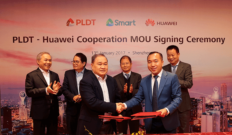 PLDT, Smart In Partnership With Huawei To Make PH 5G Ready!