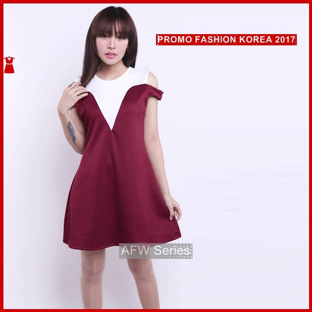 BAMFGW075 Cute Dress Gaun Wanita PROMO BMG