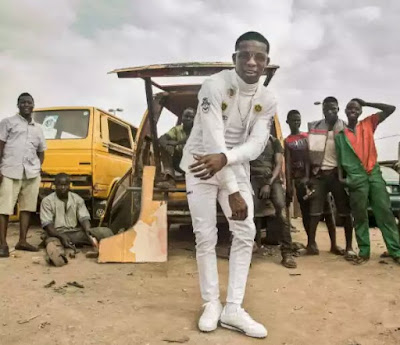 wp 1506948921972 - ENTERTAINMENT: Photos of Small Doctor Takes To The Streets Of Lagos In Recent Shoot