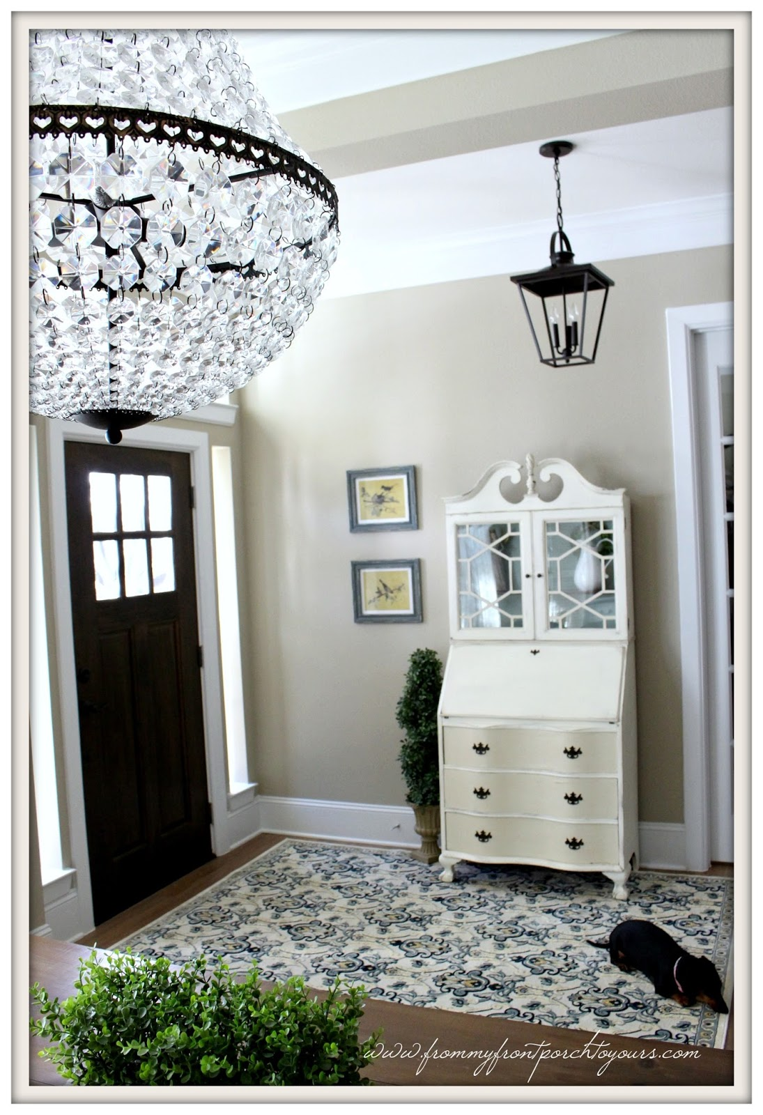 Farmhouse Foyer Zara : From my front porch to yours farmhouse foyer big plans