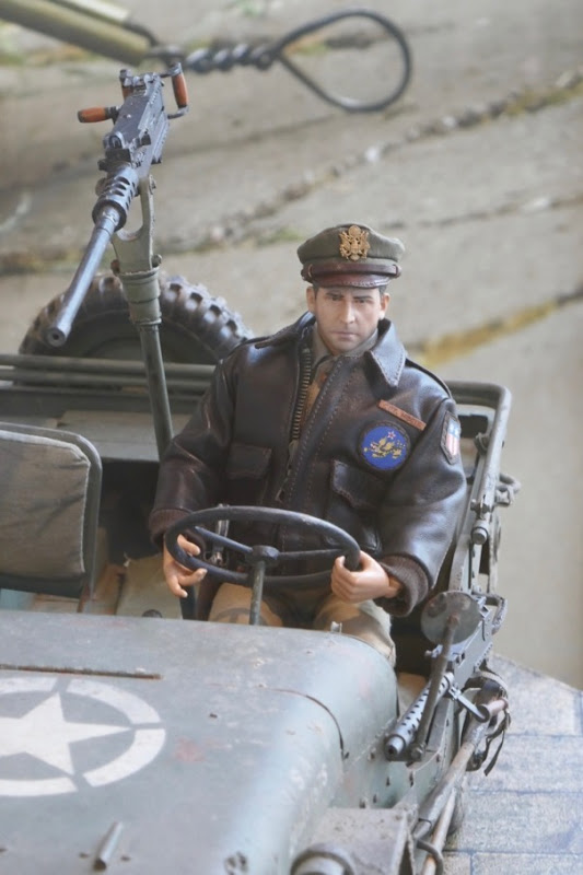 Welcome to Marwen Cpt Hogie figure jeep