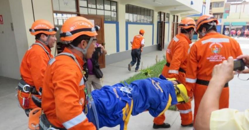 SIMULACRO DE SISMO 2017: Gran despliegue de militares, policías y médicos habrá en El Agustino
