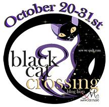 Get WICKED,,,with Black Cat Crossing from Maywood Studios