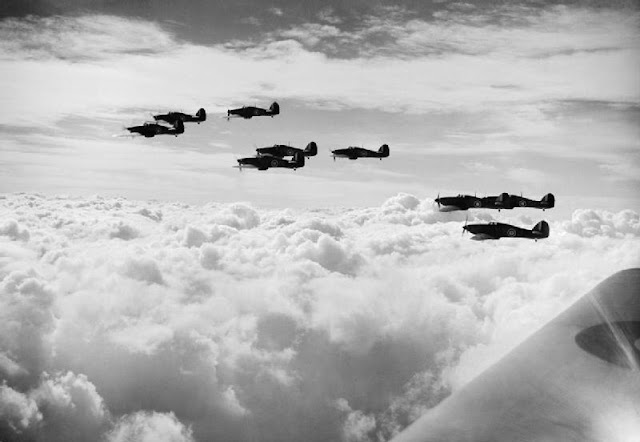 5 October 1940 worldwartwo.filminspector.com Hawker Hurricanes