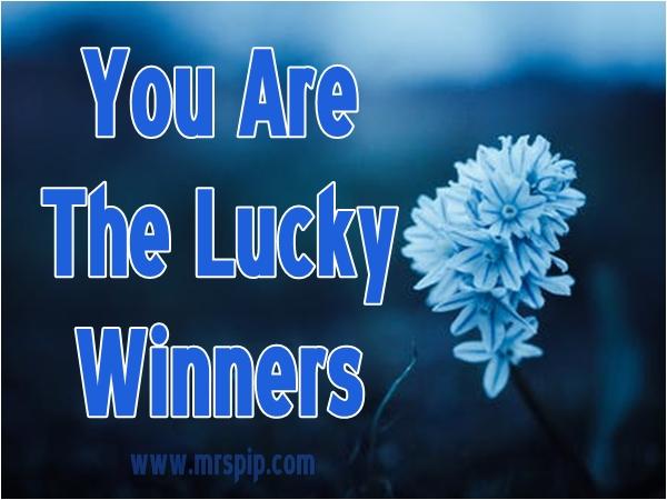 Pemenang || #RezekiDiKongsiBersama Giveaway By Mrs Pip