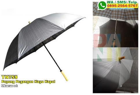 Payung Pegangan Kayu Kapal