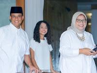 Pesan Istri pada Gubernur Baru: Mas Anies Harus Tetap Rendah Hati