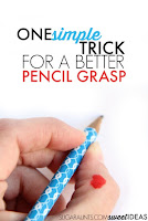 Thumb IP joint flexion pencil grasp trick