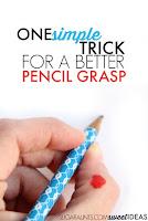 Thumb IP joint flexion pencil grasp trick