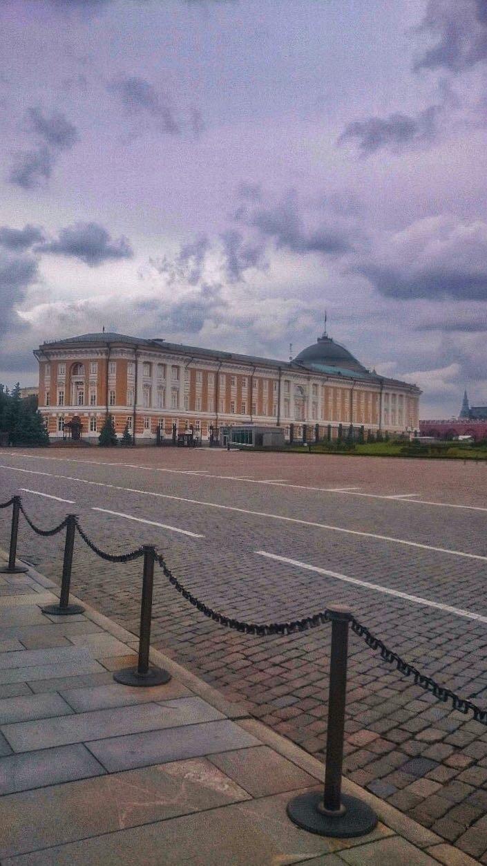 Local onde o Putin trabalha - Kremlin - Moscou