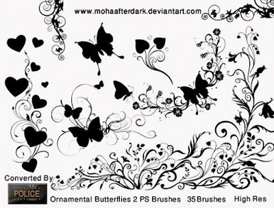 فرش تشيكلة Ornamental butterflies 2