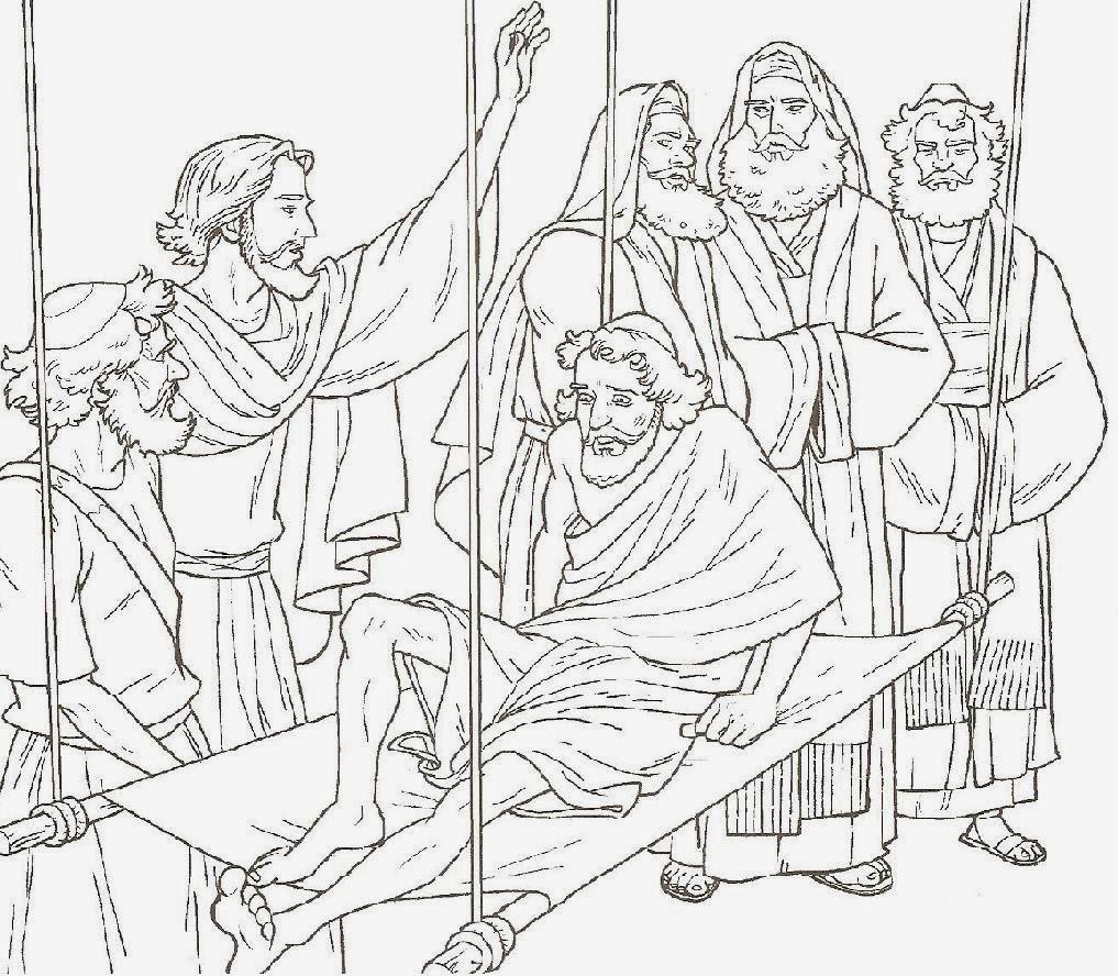 El Renuevo De Jehova: Jesus Curaba Enfermos - Imagenes para colorear ...