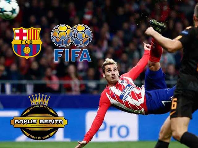 Hubungi Griezmann Secara Ilegal, Barca Dilaporkan Ke FIFA
