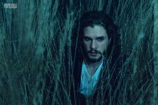 Kit Harington for L'Uomo Vogue by Norman Jean Roy