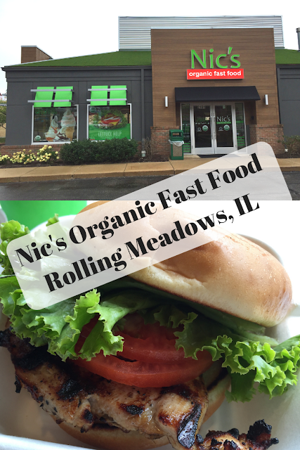 Nic's Organic Fast Food in Illinois: The USA's First All Organic Drive Thru Restaurant