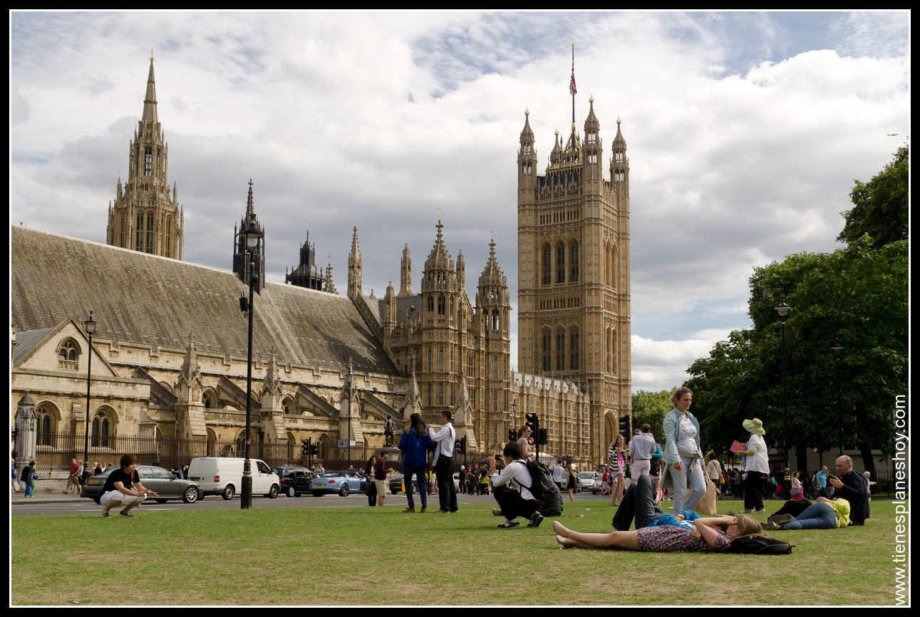 Casas de Parlamento Londres (London) Inglaterra