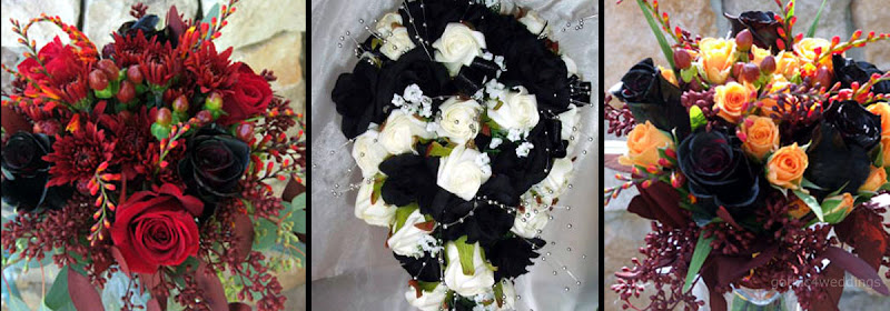 Best Flowers For Gothic Wedding Bouquets Handmade Victorian
