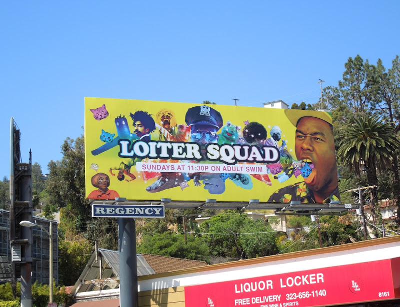 Loiter Squad season 1 billboard
