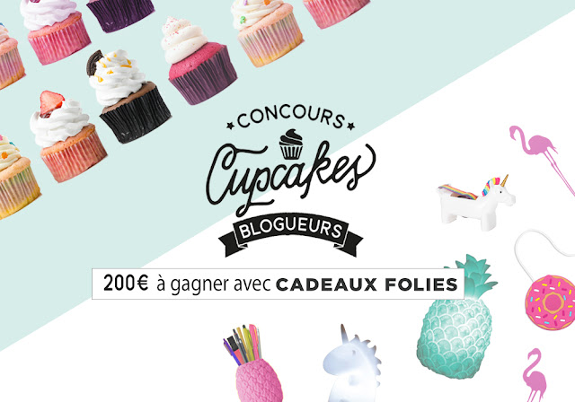 "Monster Cupcakes + concours blogueurs ""Cupcakes"""