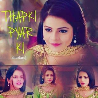 Foto Jigyasa Singh di Serial Thapki ANTV