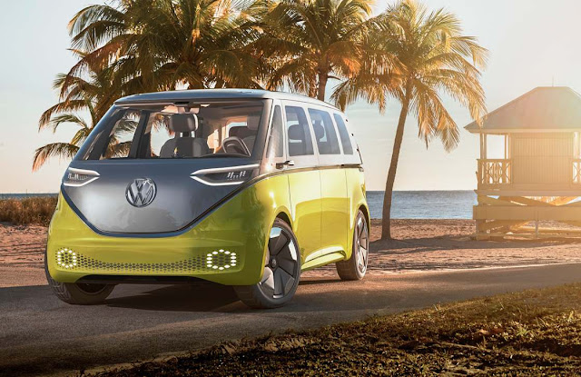 Volkswagen-clásica-Van-diseño-moderno-electrico