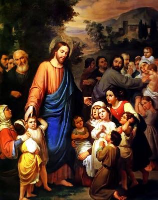 Blessings & Prayers - Bendiciones Y Oraciones: Let the Little Children Come to Jesus