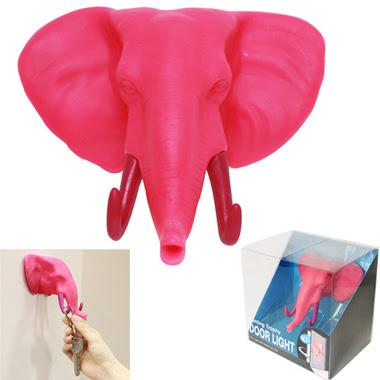 Elephant Door Light