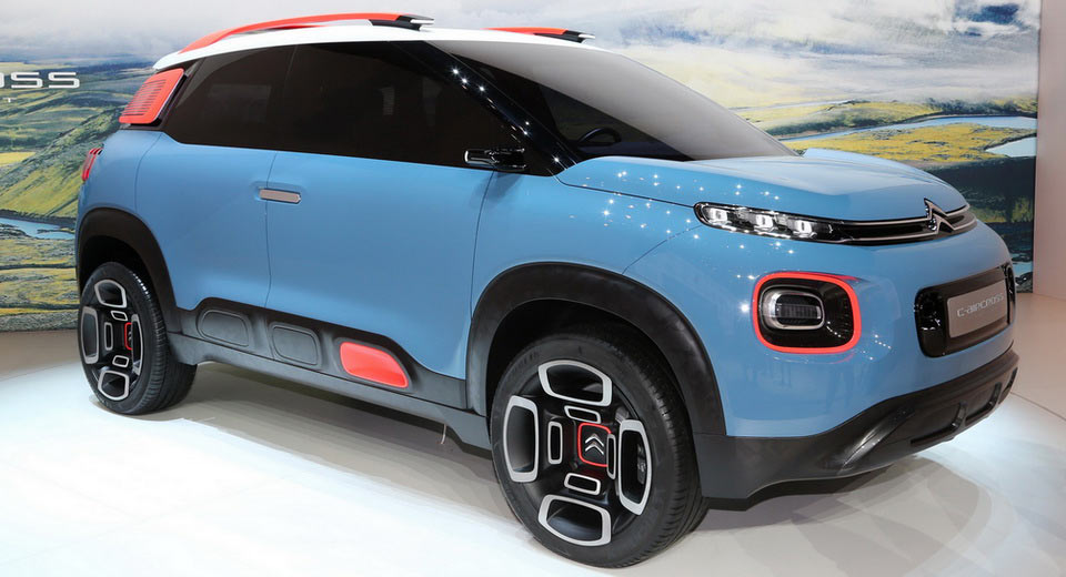 citroen s c aircross concept is basically the new c3 picasso in disguise. Black Bedroom Furniture Sets. Home Design Ideas