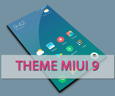 Download Tema MIUI 9 Limitless Mtz For Xiaomi MIUI