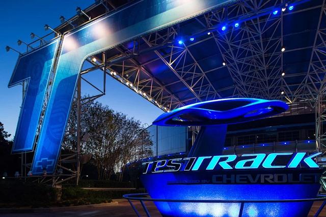 Test Track en Disney Epcot en Orlando