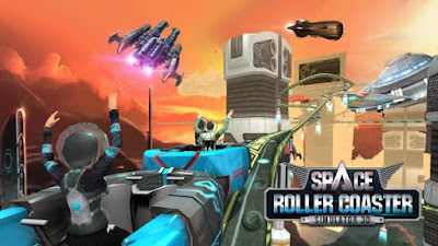 Roller Coaster Simulator Space v1.3 Mod Unlocked Apk