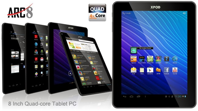 Xpod ARC8 8-inches Quad Core Tablet Price In Pakistan