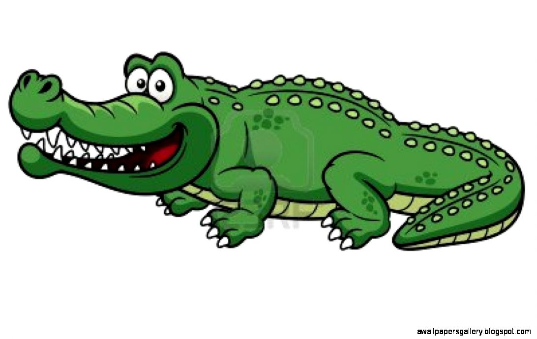 Crocodile Clipart | Wallpapers Gallery