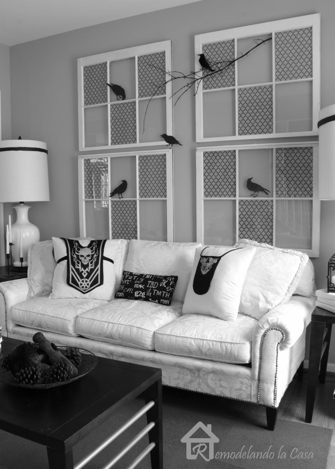 Halloween Home Decor - The Easy Way - Remodelando la Casa