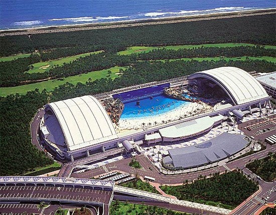 Seagaia Ocean Dome - A maior praia artificial do mundo