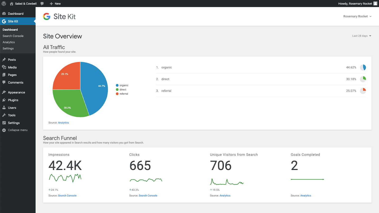Site Kit by Google - 整合所有 Google 產品服務於 WordPress 網站當中 1