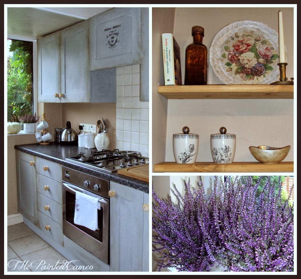 Chalk Paint For Kitchen Cabinets Uk: ThePaintedCameo: Paris Grey Kitchen Cabinets