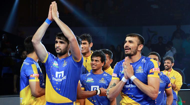 Pro Kabaddi Season 6 Opening Ceremony Live Streaming Tamil Thalivas Kabaddi Team Players List: Squad Schedule Time Table.
