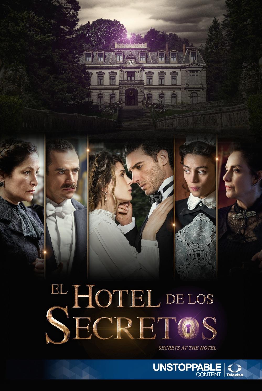 sinopsis y posters de el hotel de los secretos m s telenovelas. Black Bedroom Furniture Sets. Home Design Ideas