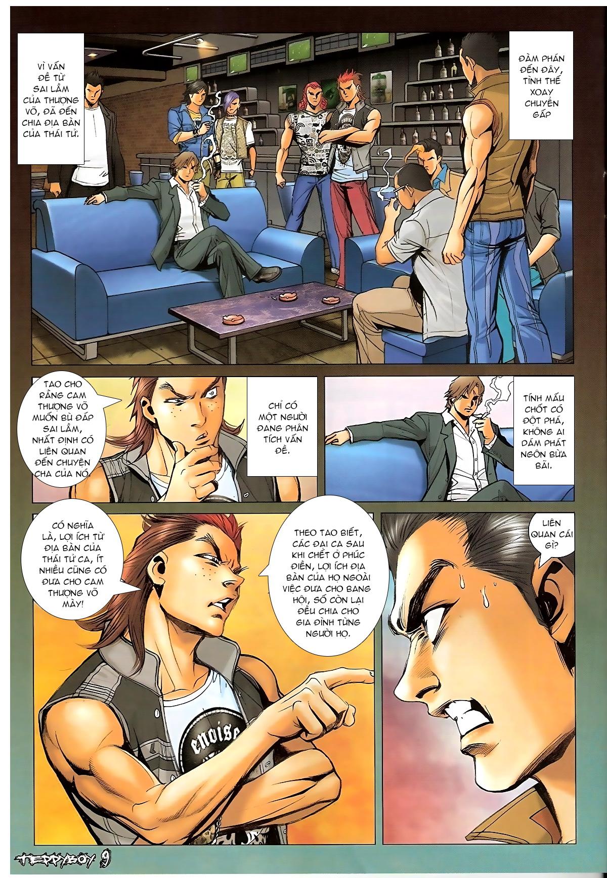 Người Trong Giang Hồ - Chapter 1322: Nói hung hăng - Pic 7