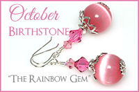 October Birthstone: The Rainbow Gem -Crystal Allure Beaded Jewelry Creations