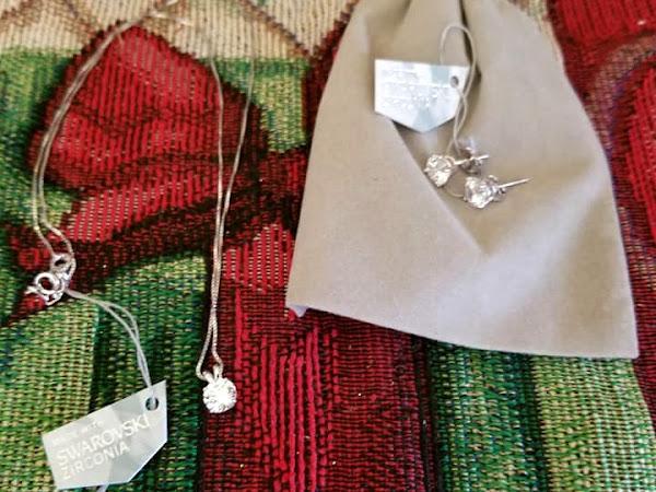 Gorgeous Swarovski Holiday Jewelry Gifts Under $50.00 from ZKS Designs #MBPHGG18