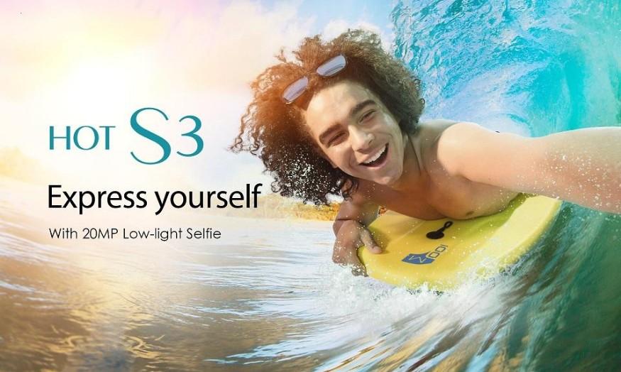 Beli Infinix Hot S3 X573 - RAM 3GB Memory 32GB - Jaringan 4G LTE