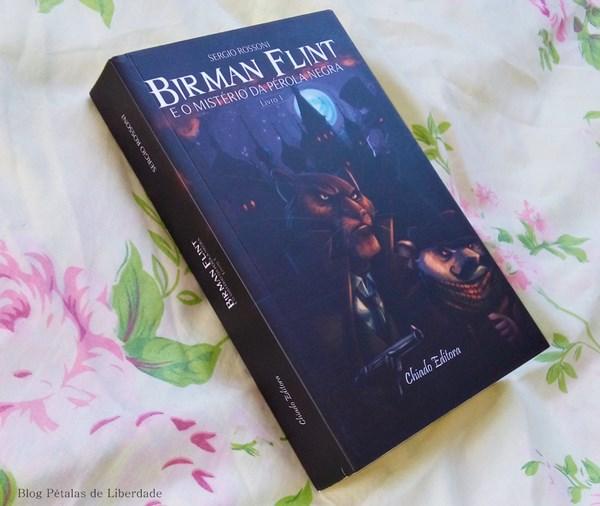 Resenha, livro, Birman-Flint-e-o-mistério-da-pérola-negra, Sergio-Rossoni, Chiado-Editora, capa, fotos, opiniao, critica, romance-policial