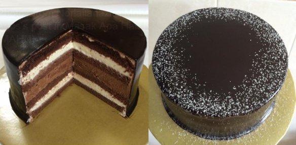 sedikit rumit tapi berbaloiresepi kek coklat ala kek chocolate secret recipe  dapur kak tie Resepi Kek Coklat Indulgence Kukus Enak dan Mudah