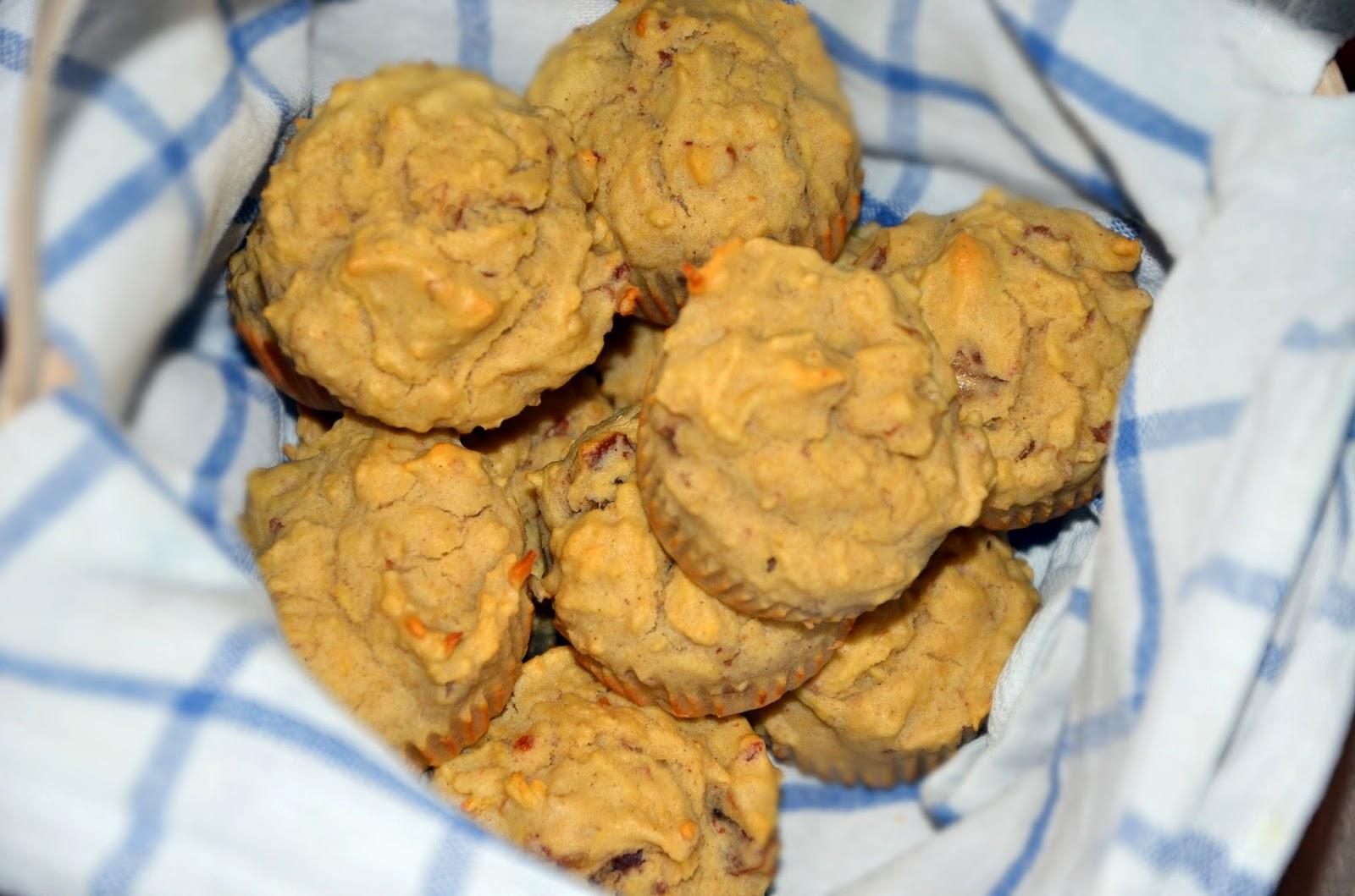 Muffinki jabłkowe z cynamonem