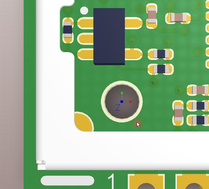 Altium PCB Designer: DFM - Non Plated Hole - Soldermask FHS