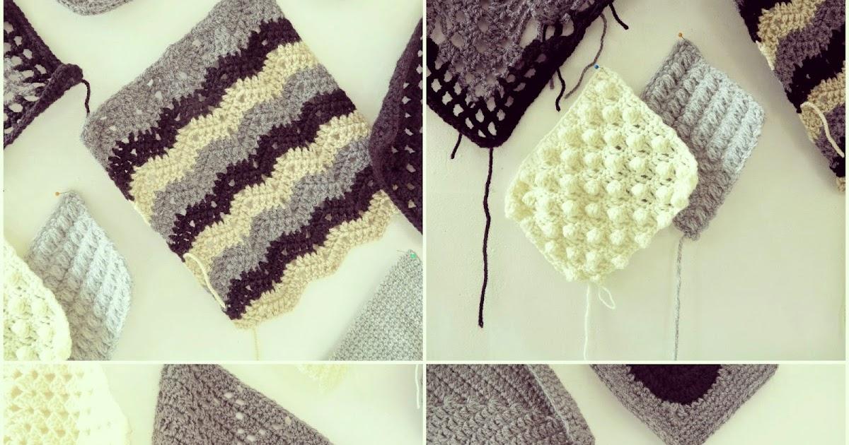 Byhaafner Crochet Black Grey Whites 1 Amp 2
