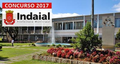 Concurso Prefeitura de Indaial SC 2017