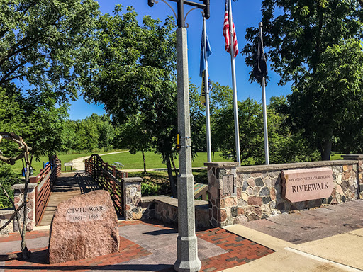 Veterans Memorial Riverwalk on the Ice Age Trail Delafield Segment